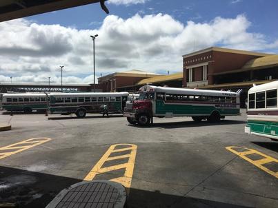 Автобус в автогара